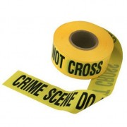 "CSI Kit - Nastro ""Crime Scene Do NOT cross"" Scena del crimine - 100 metri"