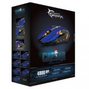 White Shark Mouse Gaming USB 4800dpi 6 Tasti Blu Caesar GM-1604BL