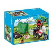 Къмпинг място на моторист Playmobil 5438