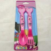 Minnie Mouse evőeszköz - műanyag