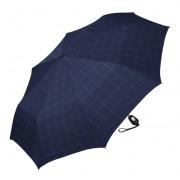 Esprit Umbrelă pentru bărbați Gents Mini Tecmatic Check Blue