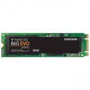 Твърд диск SSD Samsung 860 EVO Series, 500 GB 3D V-NAND Flash, MZ-N6E500BW