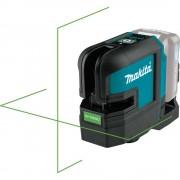 Nivela laser cu 2 linii Makita SK105GDZ compatibila cu acumulator