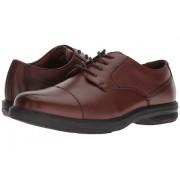 Nunn Bush Melvin Street Cap Toe Oxford with KORE Slip Resistant Walking Comfort Technology Brown