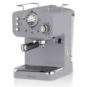Swan Retro Pump Espresso Koffie Machine - Grijs