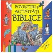 Povestiri si activitati biblice pentru copii sub 7 ani