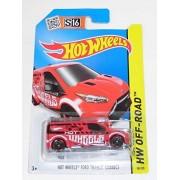Hot WHeeLs S16 Hot Wheel C4982 982J JC 98/250 HW OFF-ROAD HOT WHEELS FORD TRANSIT CONNECT single item minicar car MATEL
