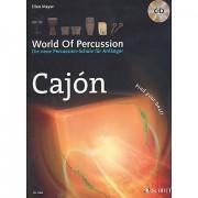 Schott World Of Percussion Cajon Libros didácticos