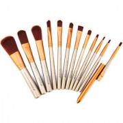 Vorra Fashion 12Pcs Makeup Cosmetic Brushes Set Face Eyeshadow Foundation Blush Brush Kit