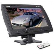 PYLE PLHR96 9-Inch TFT LCD Headrest Monitor with Stand (Black)