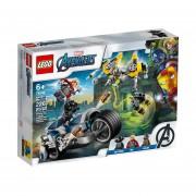 LEGO - 76142 AVENGERS VENGADORES ATAQUE EN MOTO 226 PZAS.