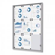 Jansen Display Economy interiérová vitrína 9 x A4