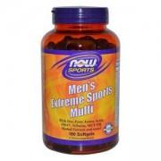Мултивитамини за мъже - Extreme Sports Multi - 180 дражета, NOW FOODS, NF3891