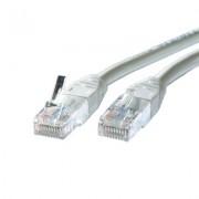 Patch kabel UTP 0.5m sivi Cat 6