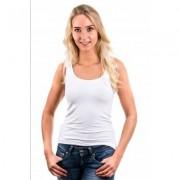 Garage Women Singlet Bodyfit White ( 0703) - Wit - Size: Extra Small