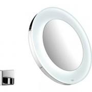 Emco Spiegel H26.5xB26.5cm diameter: 26.5cm LED Rond met verlichting Messing verchroomd 109600113