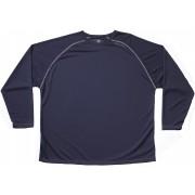 Cliff Keen MXS los Gear lange mouw technische Shirt - Navy