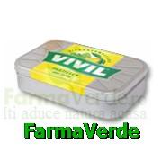 VIVIL Pastile de melisa si lamaie fara zahar 55gr