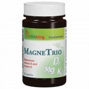 Vitaking MagneTrio Mg + K2 + D3-vitamin kapszula, 30 db