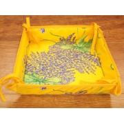 Panera de Mesa de Algodón - Modelo BOUQUET DE LAVANDE - Amarillo