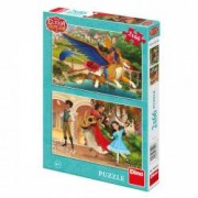 Puzzle 2 in 1 - Elena din Avalor 66 piese