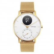 Withings Chytré Hodinky Withings Steel Hr (36 Mm) Champagne Gold/white
