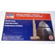 Willis Tower Chicago Wooden Puzzle Artminds