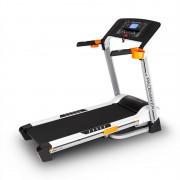Klarfit Pacemaker X20 treadmill profesional 1,75PS 16 kmh monitorizare a ritmului cardiac, curea piept, argintiu (FIT19-Pacemaker x20)