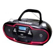 CD Player Trevi CMP 574 (Negru/Rosu)