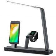 Estação de Carregamento %26 Lâmpada LED 4smarts LoomiDock - Relógio Apple, iPhone