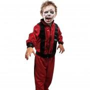 Disfraz TuDi de Rey del Pop Rojo Zombie Halloween Thriller