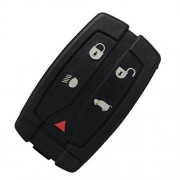 MeiBoAll Car Remote Key, 5 Button 433MHZ Intelligent Remote Control Key Keyless Entry for Land Rover Freelander 2