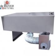 Ahumador 2 niveles frio/calor de De Buyer 60x40 cm