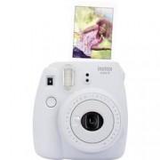 Fujifilm Instantní fotoaparát Fujifilm Instax Mini 9, kouřová, bílá