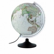 Glob Geografic Iluminat Carbon Executive Diametru 30cm National Geographic