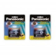 2 Pilas PANASONIC Telefónica P 501 3.6v 700mah HHR-P501