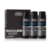 L'Oreal Professionnel Homme Vopsea gel demipermanenta fara amoniac nr. 6 Dark Blonde 3 x 50ml
