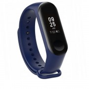 Curea silicon Tech-Protect Smooth Xiaomi Mi Band 3/4 Navy Blue