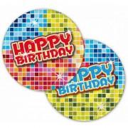 Folat Verjaardag bordjes 6 stuks