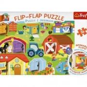 Puzzle, Trefl, La ferma , 36 elemente