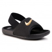 Сандали NIKE - Kawa Slide (Td) BV1094 003 Black/Metallic Gold