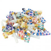 Bulk Toys Party Pack of 36 Noisemaker Blow Outs by Toy Spout Party Blowouts, Fun Party Favors, Goody Bag Stuffers, Birthday Party Favors, New Years Party Noisemakers Includes 36 Blow Out Toys