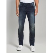 TOM TAILOR Jeans Josh regular slim, Heren, dark stone wash denim, 32/32