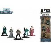 5 metalen harry potter figuren - metalfigs - bekend van de boeken - toverstaf - wand - figuurtjes - speelgoed - Viros