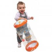 Jucarie gonflabila cu bile Roller baby Ludi, 45 x 20 x 20 cm, 6 luni+
