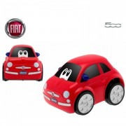 Chicco - Coche Turbo Touch Fiat 500, Color Rojo