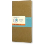 Moleskine Notes Moleskine Chapters Journal L oliwkowy w linie