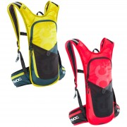 Evoc CC 3L Race Backpack and 2L Bladder - Yellow/Grey