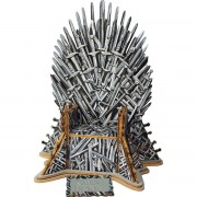 puzzle Game of Thrones - 3D Monument - Iron Throne - EDCA17207