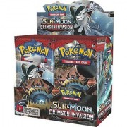 FC Sun and Moon Series Pokemoon Cards(5 Packs )